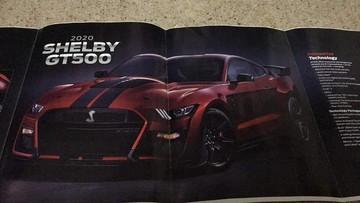 Siêu cơ bắp Ford Mustang Shelby GT500 2020 rò rỉ hình ảnh và thông số khiến nhiều fan thèm thuồng