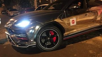 """Minh """"Nhựa"""" thay áo crôm đen cực chất cho siêu SUV Lamborghini Urus chuẩn bị """"ăn tết"""""""