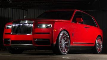 Rapper Gucci Mane tặng Rolls-Royce Cullinan màu đỏ rực tặng vợ nhân dịp sinh nhật