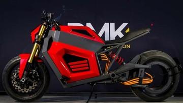 Diện kiến siêu mô tô điện RMK E2 ngoài đời thực