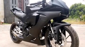 Diện kiến Yamaha R15 V3.0 độ lên dàn áo siêu mô tô Yamaha R1 thế hệ mới nhất