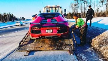 Cảnh sát Canada tạm giữ siêu xe Lamborghini Aventador mui trần 1 tuần do chạy quá tốc độ