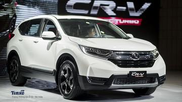 """Honda CR-V đạt doanh số """"đỉnh"""", giúp Honda Việt Nam tăng trưởng mạnh trong tháng 1/2019"""