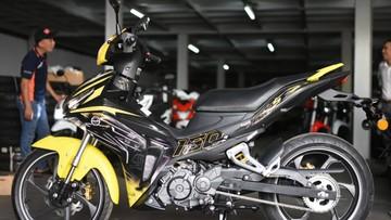 """Cận cảnh xe côn tay Benelli RFS150i - Đối thủ """"khó chịu"""" của Yamaha Exciter 150"""