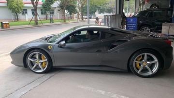 """Siêu xe Ferrari 488 GTB từng """"qua tay"""" Cường """"Đô-la"""" tiếp tục được rao bán, giá khoảng 7,3 tỷ đồng"""