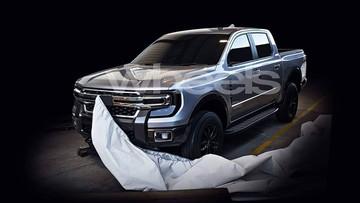 Ford Ranger 2021 lộ diện với thiết kế giống xe bán tải hạng nặng Super Duty