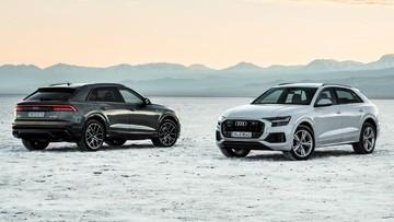 SUV hạng sang Audi Q8 2019 sẽ có thêm 2 tùy chọn động cơ hybrid V6