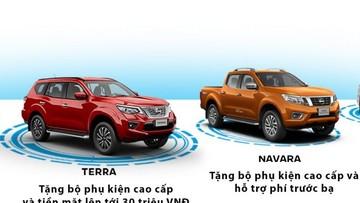Nissan lì xì tiền mặt lên đến 30 triệu đồng cho khách hàng mua xe trong tháng 2