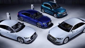 Audi sẵn sàng đến Geneva 2019 với các phiên bản plug-in hybrid Q5, A6, A7 và A8