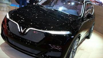 VinFast LUX SA V8 đưa tới Geneva - chiến lược marketing hiệu quả