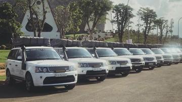 """Dàn xe Range Rover tụ tập tham dự Hành trình từ trái tim mùa 2 vào ngày mai, siêu xe đâu rồi """"Qua"""" ơi?"""