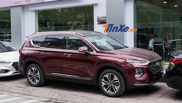 Khám phá trang bị của Hyundai Santa Fe Premium 2019 mới về đại lý