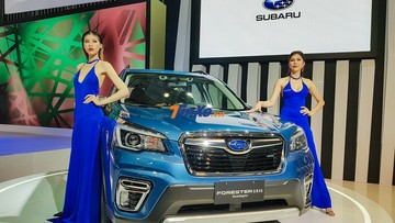 Subaru Forester 2019 nhập Thái về Việt Nam trong tháng sau, giá dự kiến từ 1,128 tỷ đồng
