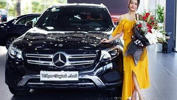 Sau nửa năm tái xuất showbiz, ca sĩ Phạm Quỳnh Anh tậu Mercedes-Benz GLC 250 gần 2 tỷ đồng