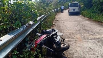 Chở bạn đi tham quan núi Sơn Trà bằng xe ga, nữ sinh viên đại học tử vong