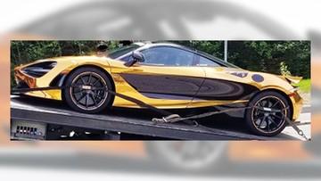 Chạy quá tốc độ, thiếu gia 20 tuổi bị tịch thu siêu xe McLaren 720S mạ crôm vàng