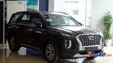 Hyundai Palisade 2020 bất ngờ được trưng bày tại Hà Nội, chuẩn bị cạnh tranh Ford Explorer