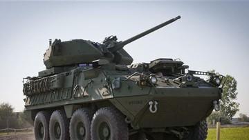 Quân đội Mỹ tìm cách gắn pháo 30 mm lên xe bọc thép Stryker để đọ với Nga và Trung Quốc