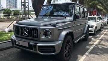 """Mercedes-AMG G63 Edition 1 đầu tiên về Việt Nam của doanh nhân Đà Nẵng đã có """"hộ khẩu"""""""