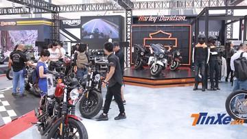 Harley-Davidson, Triumph, Royal Enfield toả sáng tại Vietnam Auto Expo 2019
