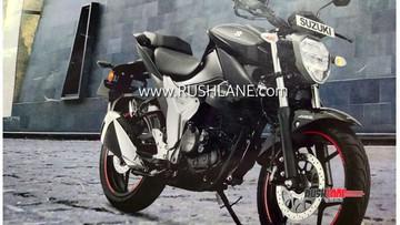 Naked bike Suzuki Gixxer 155 phiên bản mới đẹp hơn nhờ thiết kế đèn ấn tượng