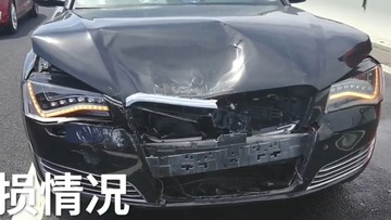 Dừng xe trên cao tốc, nữ tài xế lái BMW gây tai nạn liên hoàn cho Audi A8L cùng 2 ô tô khác