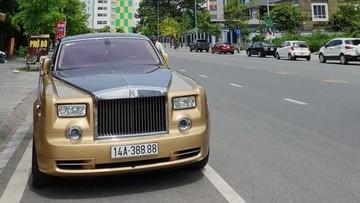 """Rolls-Royce Phantom biển """"tứ quý"""" 6 khi về Quảng Ninh đổi thành biển """"tứ quý"""" 8"""