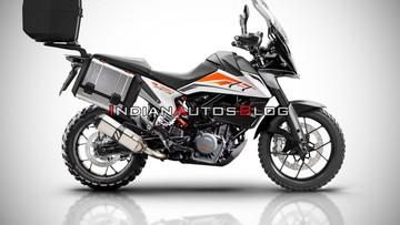 Ấn Độ sẽ là thị trường đầu tiên đón nhận xe KTM 390 Adventure, giá dự kiến khoảng 88 đến 98 triệu đồng