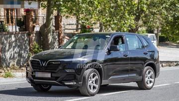 Cặp đôi xe VinFast LUX A2.0 và LUX SA2.0 bị bắt gặp chạy thử tại châu Âu