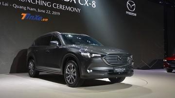 Mazda CX-8: Giá xe Mazda CX-8 2019 mới nhất hiện nay trên thị trường tháng 9/2019