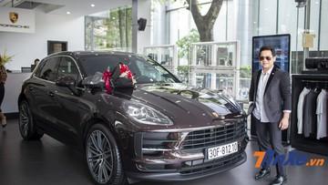 Nam ca sĩ Trọng Tấn mua Porsche Macan 2019 giá ít nhất 3,1 tỷ đồng