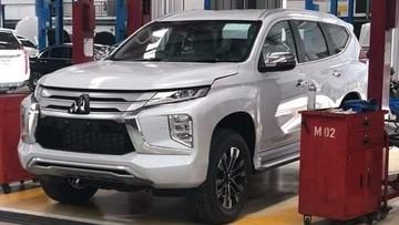 Gần ngày ra mắt, Mitsubishi Pajero Sport 2020 lộ ảnh thực tế