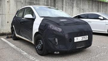 Hyundai Grand i10 2019 bị bắt gặp trên đường phố trước ngày ra mắt