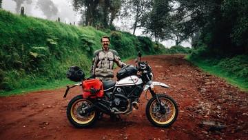 """Chiếc Ducati Scrambler Desert Sled nổi tiếng với hành trình vòng quanh thế giới bất ngờ bị... """"nhảy"""" mất"""
