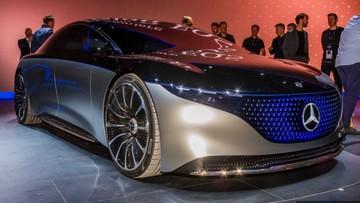 Diện kiến xe điện hạng sang Mercedes-Benz Vision EQS có khả năng đi 700 km