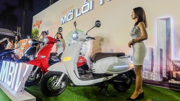 Giá xe máy điện MBIGO MBI V mới nhất tháng 10/2019