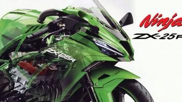 Kawasaki Indonesia tung teaser mẫu Sport bike 250cc nhưng không phải là ZX-25R
