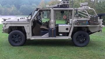 Defenture GRF 5.12 Platform - Xe quân sự 4x4 giá 420.000 USD với khả năng chuyển đổi đủ vai trò
