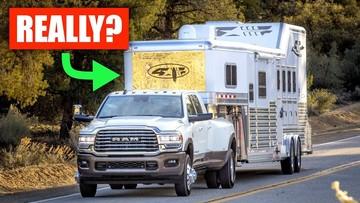 Khám phá cách thức xe bán tải được đánh giá sức kéo tối đa