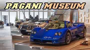 Thư giãn đầu óc với một vòng quanh viện bảo tàng siêu xe Pagani
