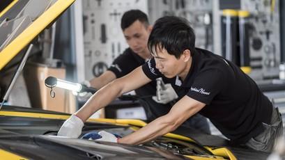 Hậu Car & Passion 2018, những chiếc xe Lamborghini được chăm sóc kỹ như thế nào?