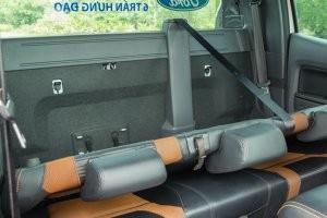 Diện tích chứa đồ trên Ford Ranger 2016 có thể được nới rộng