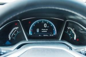 Cụm đồng hồ lái của Honda Civic 2017