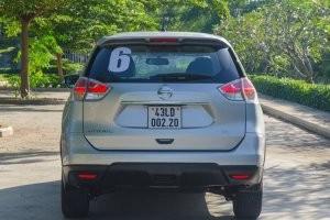Phần đuôi của Hyundai SantaFe 2017 với Nissan X-Trail 2017