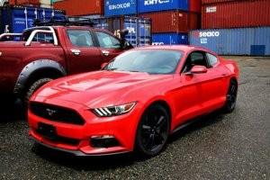 Kích thước của Ford Mustang 2015