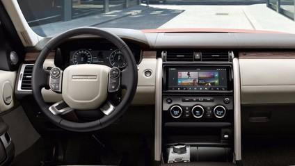 Land Rover Discovery 2018 - góc nhìn của buồng lái