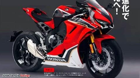 Siêu mô tô Honda CBR1000RR SP2 sắp ra mắt với sức mạnh 221 mã lực