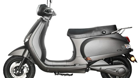 Trung Quốc tung ra xe máy điện Benling Aura mang thiết kế giống Vespa, giá chưa đến 30 triệu đồng