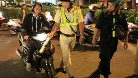 TP. Hồ Chí Minh: CSGT sẽ tăng cường kiểm tra xe mô tô từ nay đến cuối năm 2019