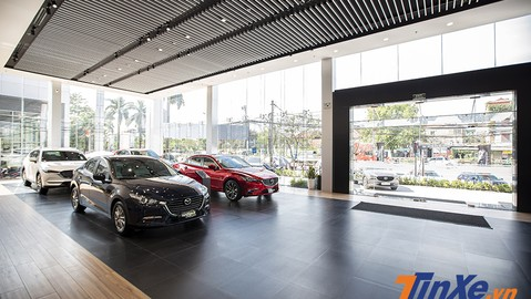 THACO mở rộng thêm showroom Mazda Giải Phóng để phục vụ khách hàng Thủ đô